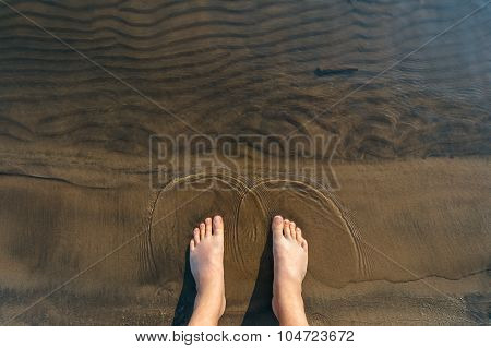 Feet In The Water .