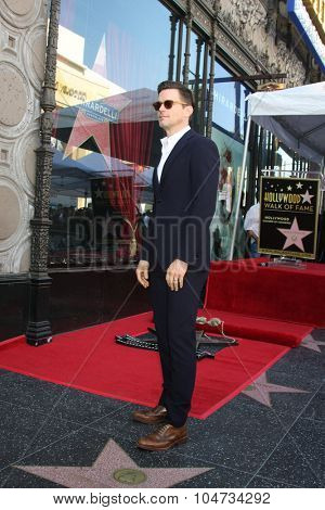 LOS ANGELES - OCT 12:  Matt Bomer at the Kelly Ripa Hollywood Walk of Fame Ceremony at the Hollywood Walk of Fame on October 12, 2015 in Los Angeles, CA