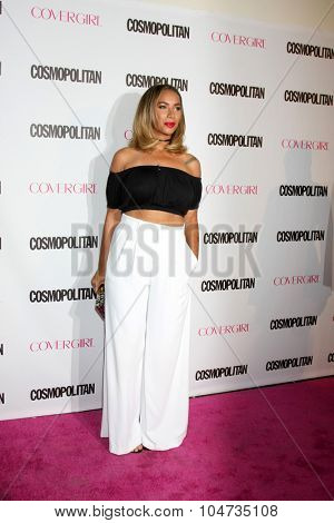 LOS ANGELES - OCT 12:  Leona Lewis at the Cosmopolitan Magazine's 50th Anniversary Party at the Ysabel on October 12, 2015 in Los Angeles, CA