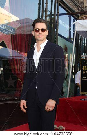 LOS ANGELES - OCT 12:  Matt Bomer at the Kelly Ripa Hollywood Walk of Fame Ceremony at the Hollywood Walk of Fame on October 12, 2015 in Los Angeles, CA