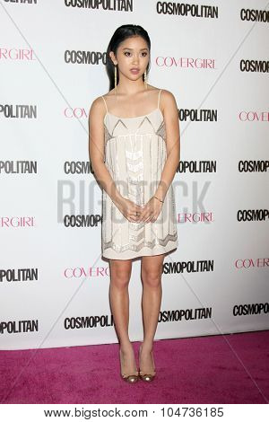 LOS ANGELES - OCT 12:  Lana Condor at the Cosmopolitan Magazine's 50th Anniversary Party at the Ysabel on October 12, 2015 in Los Angeles, CA