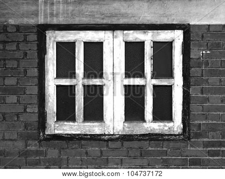 Old Windows and Red Bricks