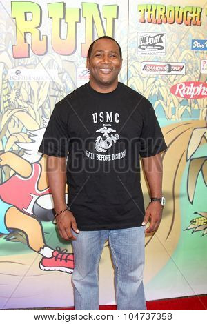 LOS ANGELES - OCT 9:  Darius Cottrell at the Celebrities Salute the Military at Corn Maze at the Big Horse Feed and Mercantile on October 9, 2015 in Temecula, CA