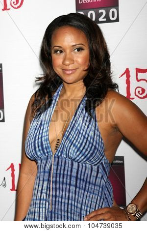 LOS ANGELES - OCT 11:  Tracie Thoms at the Les Girls 15 at the Avalon Hollywood on October 11, 2015 in Los Angeles, CA