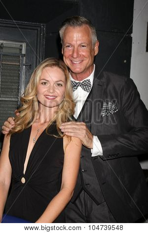 LOS ANGELES - OCT 11:  Carrie Schroeder, Michael Nicklin at the Les Girls 15 at the Avalon Hollywood on October 11, 2015 in Los Angeles, CA
