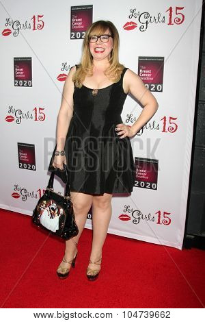 LOS ANGELES - OCT 11:  Kirsten Vangsness at the Les Girls 15 at the Avalon Hollywood on October 11, 2015 in Los Angeles, CA