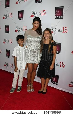 LOS ANGELES - OCT 11:  Andrea Navedo at the Les Girls 15 at the Avalon Hollywood on October 11, 2015 in Los Angeles, CA