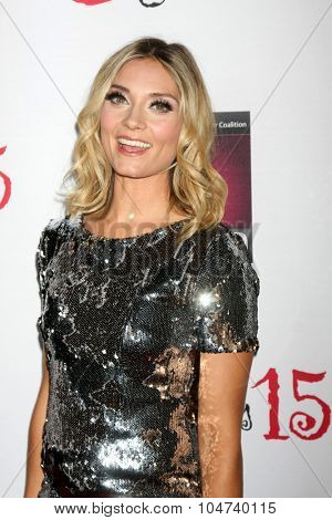 LOS ANGELES - OCT 11:  Spencer Grammer at the Les Girls 15 at the Avalon Hollywood on October 11, 2015 in Los Angeles, CA