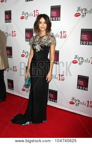 LOS ANGELES - OCT 11:  Abigail Spencer at the Les Girls 15 at the Avalon Hollywood on October 11, 2015 in Los Angeles, CA