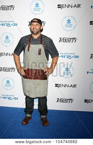 LOS ANGELES - OCT 8:  Nick Liberato at the Autism Speaks Celebrity Chef Gala at the Barker Hanger on October 8, 2015 in Santa Monica, CA
