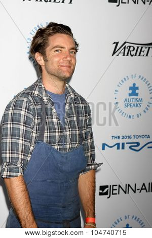 LOS ANGELES - OCT 8:  Marcel Vigneron at the Autism Speaks Celebrity Chef Gala at the Barker Hanger on October 8, 2015 in Santa Monica, CA