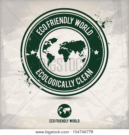 Alternative Eco World Stamp