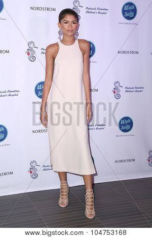 LOS ANGELES - OCT 10:  Zendaya Coleman at the Nordstrom Del Amo Fashion Center Opening Gala at the Nordstrom on October 10, 2015 in Torrance, CA