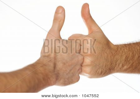 Thumb Up Fists