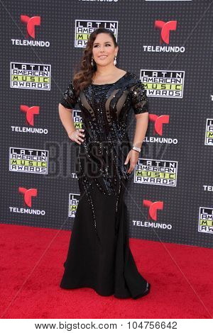 LOS ANGELES - OCT 8:  Angelica Vale at the Latin American Music Awards at the Dolby Theater on October 8, 2015 in Los Angeles, CA