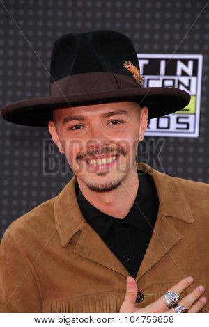 LOS ANGELES - OCT 8:  Jesse at the Latin American Music Awards at the Dolby Theater on October 8, 2015 in Los Angeles, CA