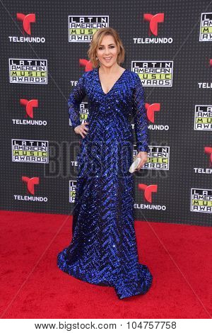 LOS ANGELES - OCT 8:  Ana Maria Canseco at the Latin American Music Awards at the Dolby Theater on October 8, 2015 in Los Angeles, CA
