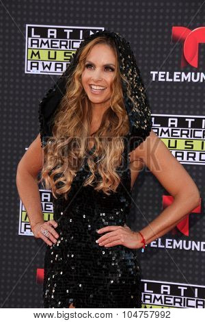LOS ANGELES - OCT 8:  Lucero at the Latin American Music Awards at the Dolby Theater on October 8, 2015 in Los Angeles, CA