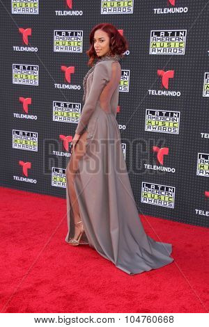 LOS ANGELES - OCT 8:  Natalie La Rose at the Latin American Music Awards at the Dolby Theater on October 8, 2015 in Los Angeles, CA