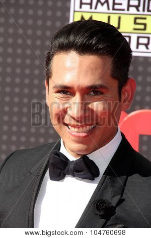 LOS ANGELES - OCT 8:  Christian Ramirez at the Latin American Music Awards at the Dolby Theater on October 8, 2015 in Los Angeles, CA