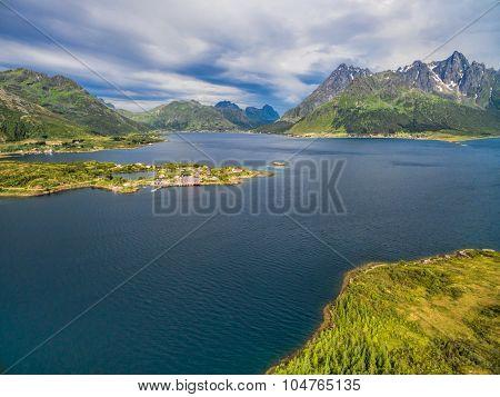Fjord And Sildpollnes Church