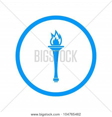Torch Icon - Vector