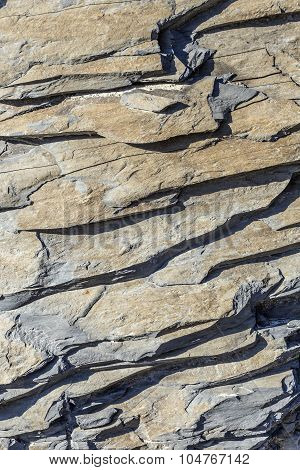 Pattern Of Natural Slate