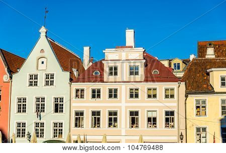 Details Of The Architecture Of Tallinn - Estonia