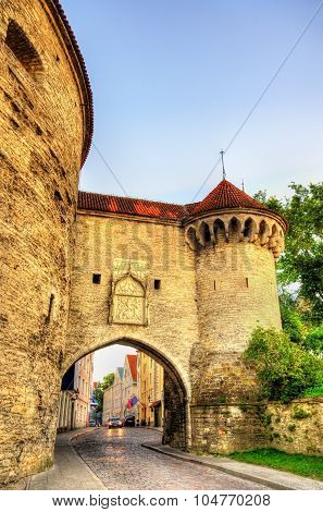 The Great Coastal Gate In Tallinn - Estonia