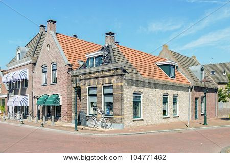 Center Of Ijlst In Friesland.