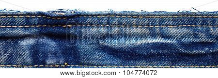 Jeans Fabric From Jeans Pants