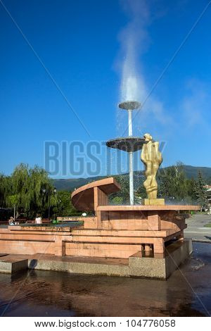 Geyser in Town of Sapareva Banya