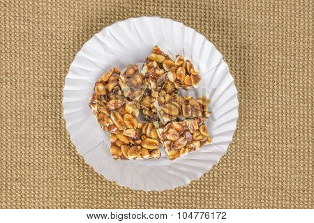 Groundnut And Jaggery Candy
