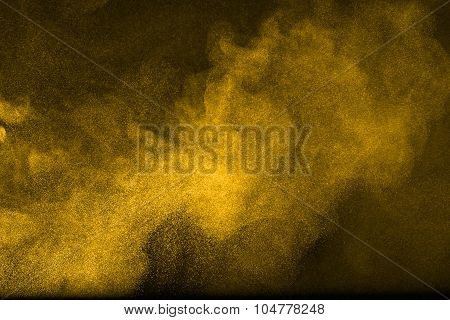 Abstract Design Of  Flour Cloud
