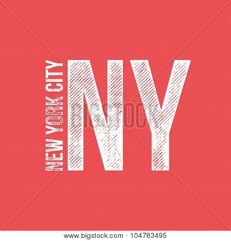 New York City Retro Vintage Dirty Label - T-shirt Design