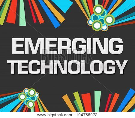 Emerging Technology Dark Colorful