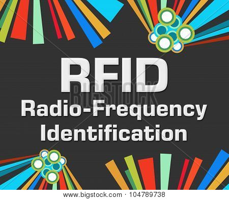 RFID Dark Colorful Elements