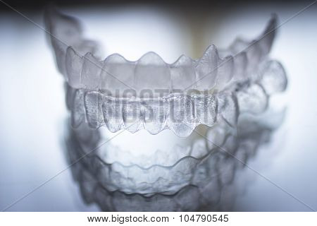 Invisible Dental Teeth Brackets Aligners Braces Retainers