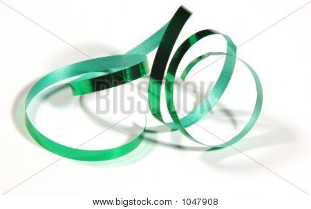 Green Christmas Ribbon