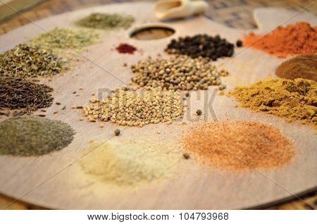 Mustard Seeds And Other Spices