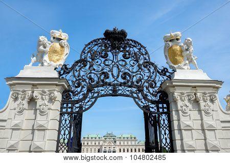 Belvedere Castle Park - Vienna