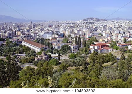Athens Greece cityscape
