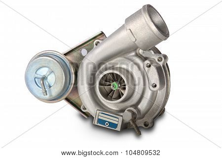 Turbocharger. Turbine for auto
