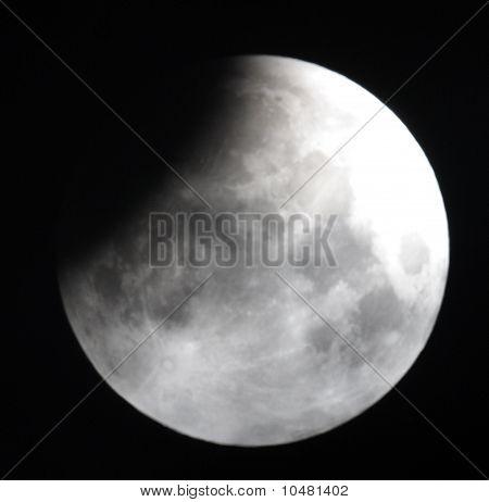 Lunar eclipse 21.02.08. Ukraine, Donetsk region