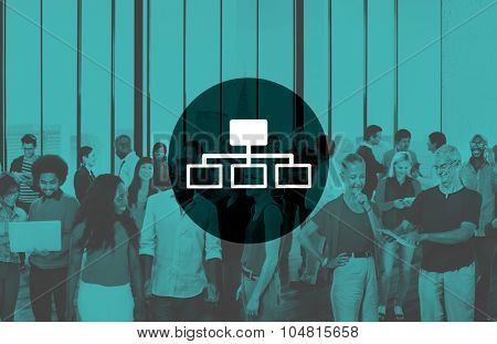Connection Connecting Connect Internet Interface Concept