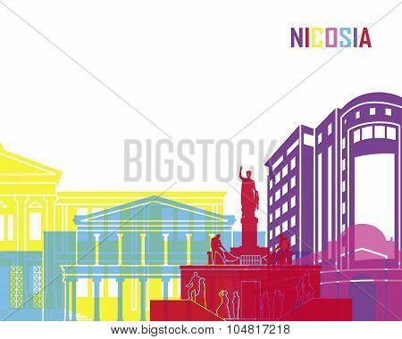 Nicosia Skyline Pop