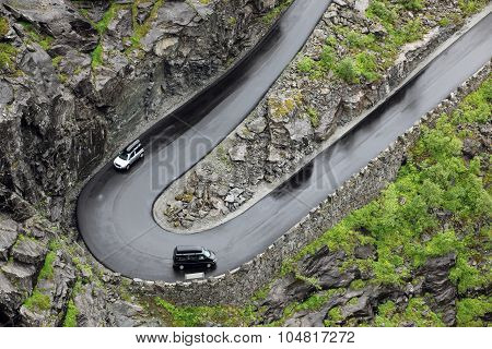 Road Of The Trolls In Norway Mt