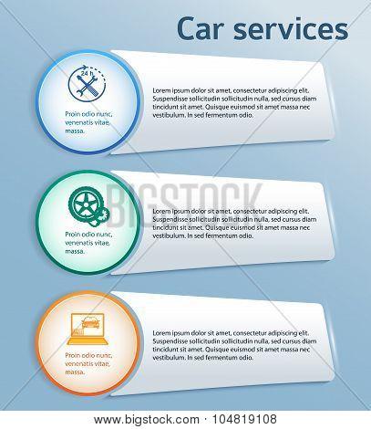 Service-car-repair-button-horizontal-pattern