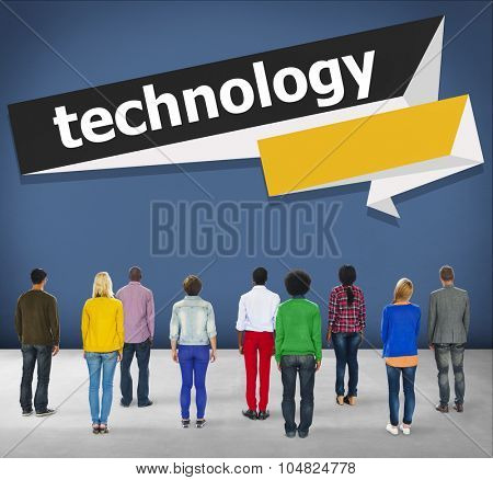 Technology High-Tech New Invention Smart Devices Concept