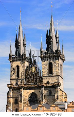 Church of Our Lady before Tyn in Prague